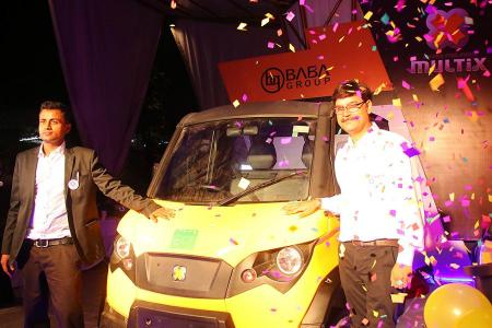 Multix launches personal utility vehicle